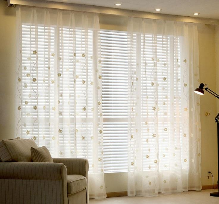 Sheer Curtain note: it is better for your curtainu0027s width to be 1.5-2 times of TOYXEQP