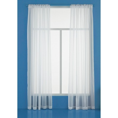 Sheer Curtain sheer curtain panel - room essentials™ OBUTIGN