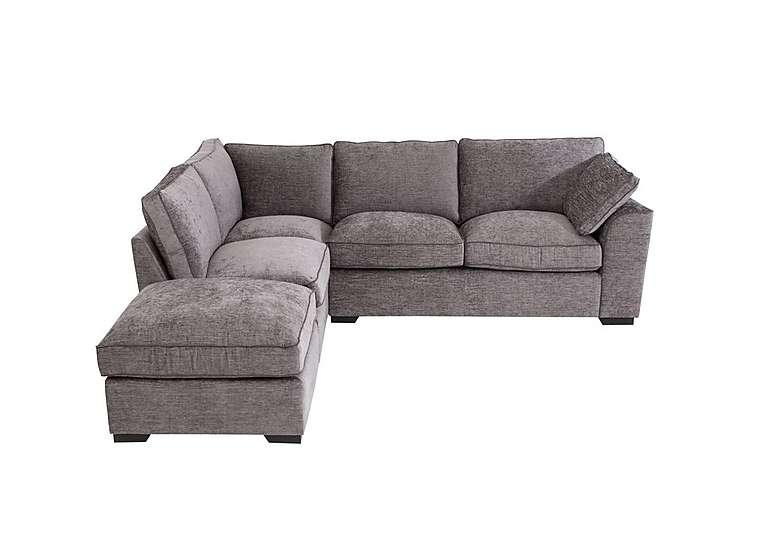 Small Corner Sofa alexandra small corner sofa with footstool QMZUVUR
