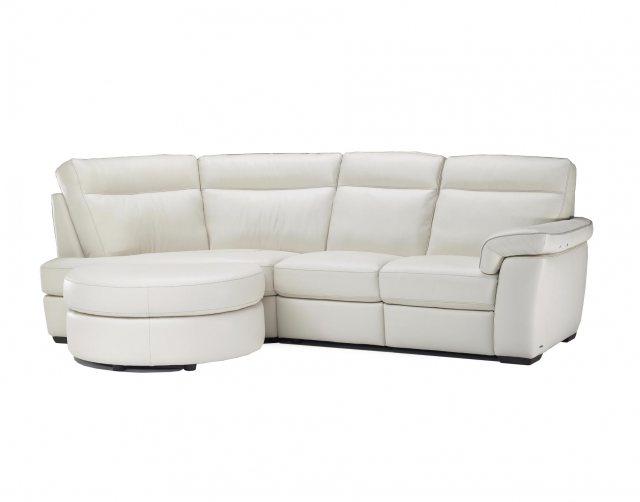 Small Corner Sofa natuzzi daniele leather lhf chaise small corner sofa OPVBDEQ