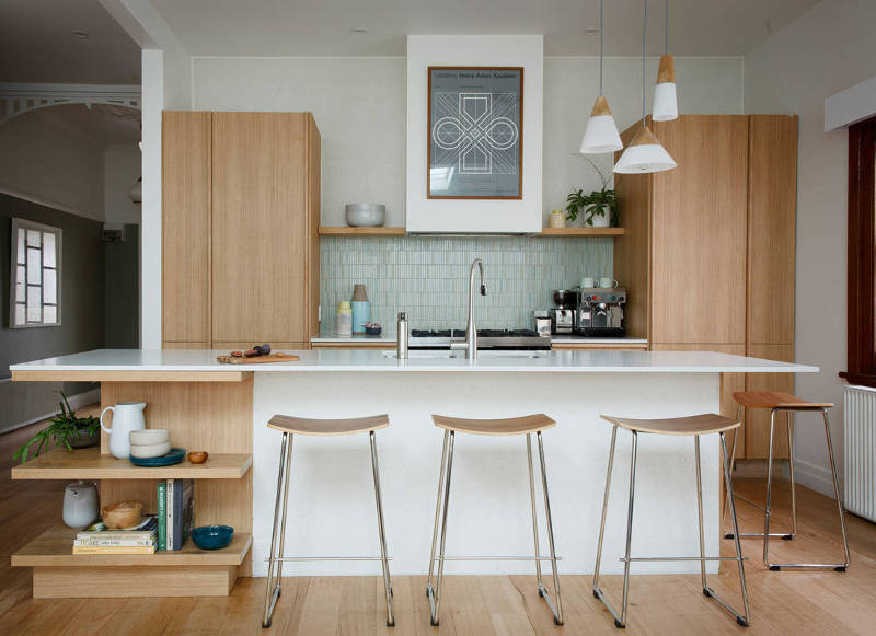 Small Kitchen Design mid-century modern small kitchen design ideas youu0027ll want to steal -  freshome.com IWWRLPO