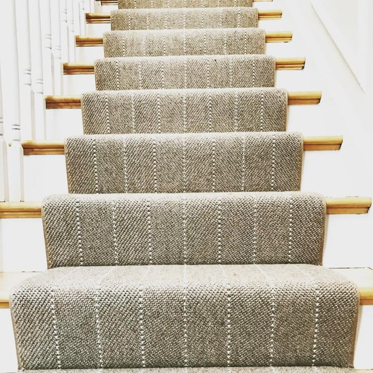 stair runners a simple runner could make your stairs look amazing. -prestige -ravine  @thecarpetworkroom MHSIAAU