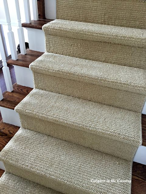 stair runners a sisal substitute for the stairs HHKVNFN
