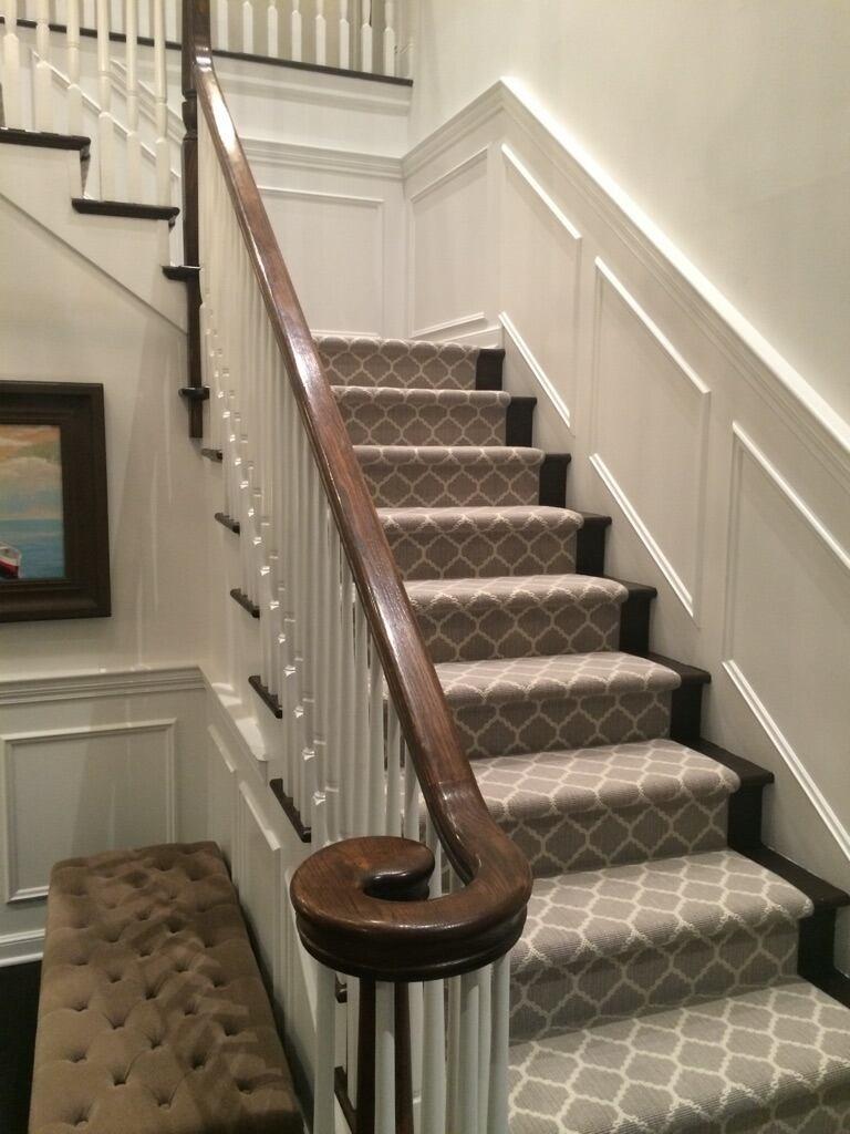 stantonu0027s carnegy in platinum stair carpet OJZPVHN