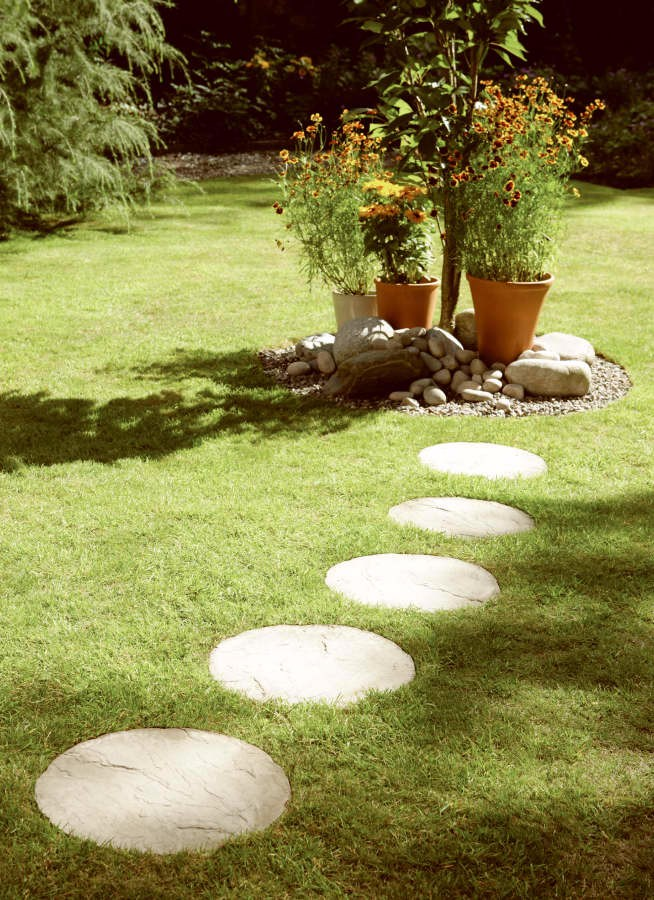 Stepping Stones round stepping stones cream blend HJITMMG