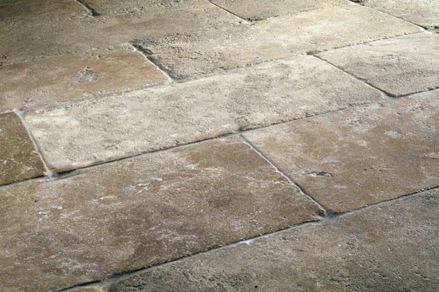 stone flooring antique-stone-flooring-finish-french-quarter-latte-walnut- GLEQXLI