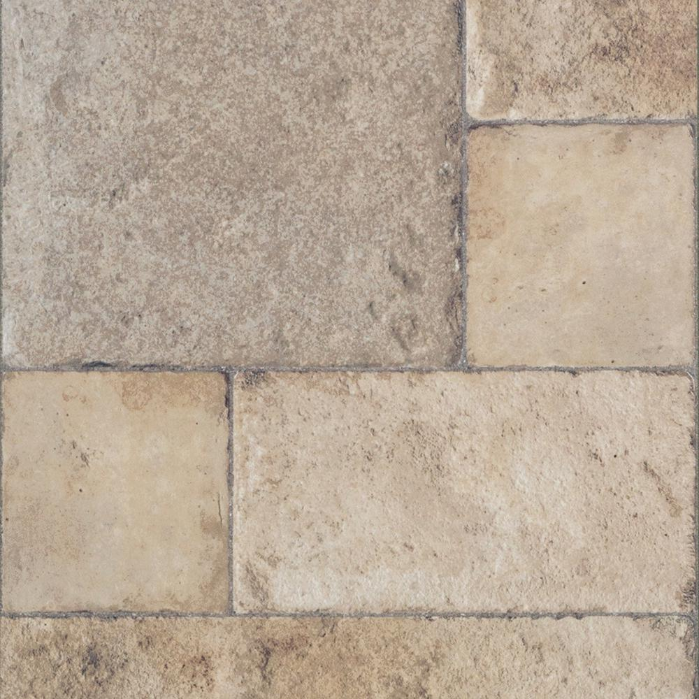 stone flooring innovations tuscan stone sand 8 mm thick x 15-1/2 in. wide LNDIZUQ