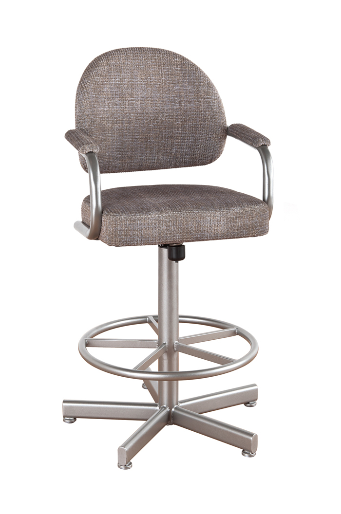Swivel Bar Stools With Arms callee daytona tilt swivel stool with arms ... AHMIWSB