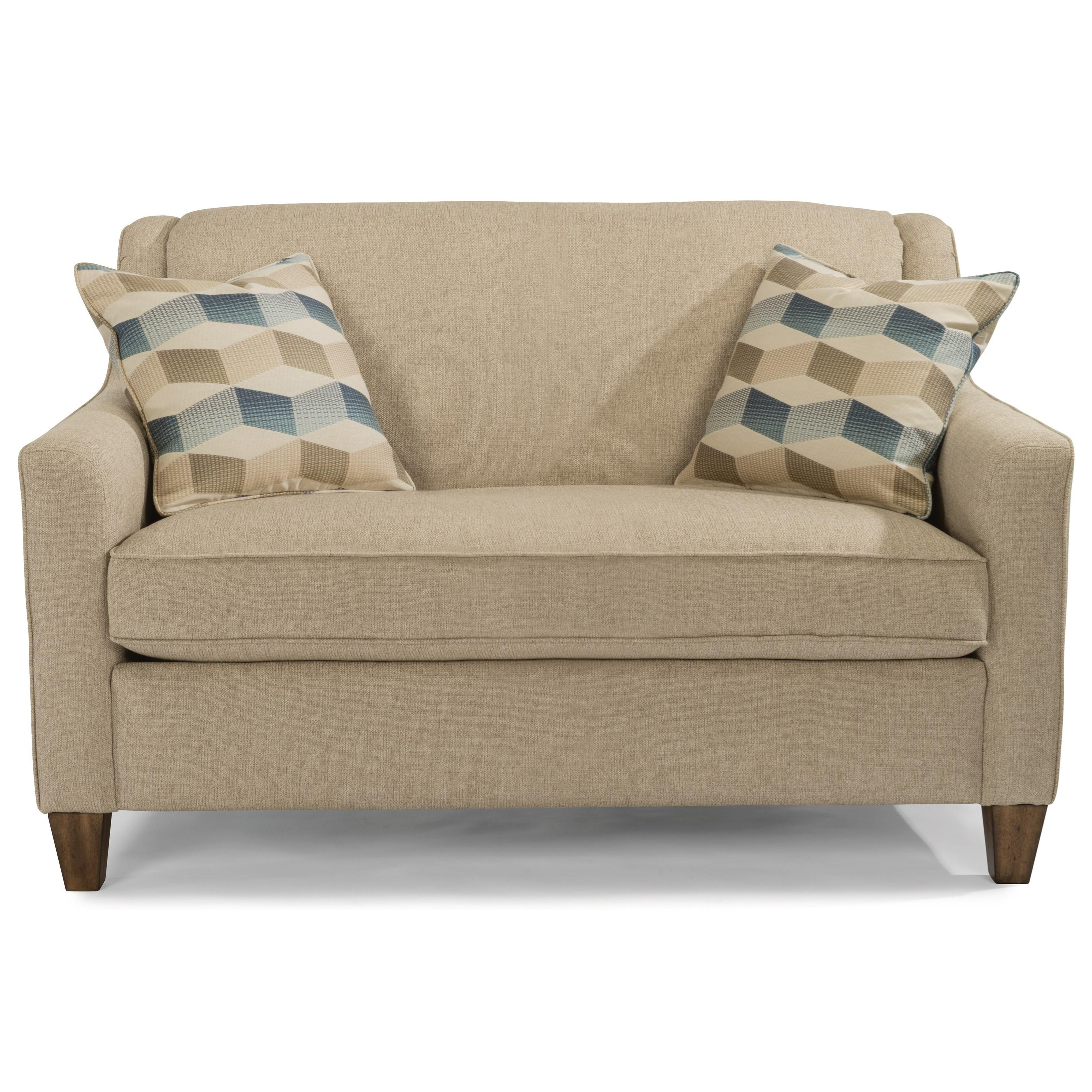 Twin Sleeper Sofa flexsteel holly twin sleeper sofa - item number: 5118-41 ETCELIW