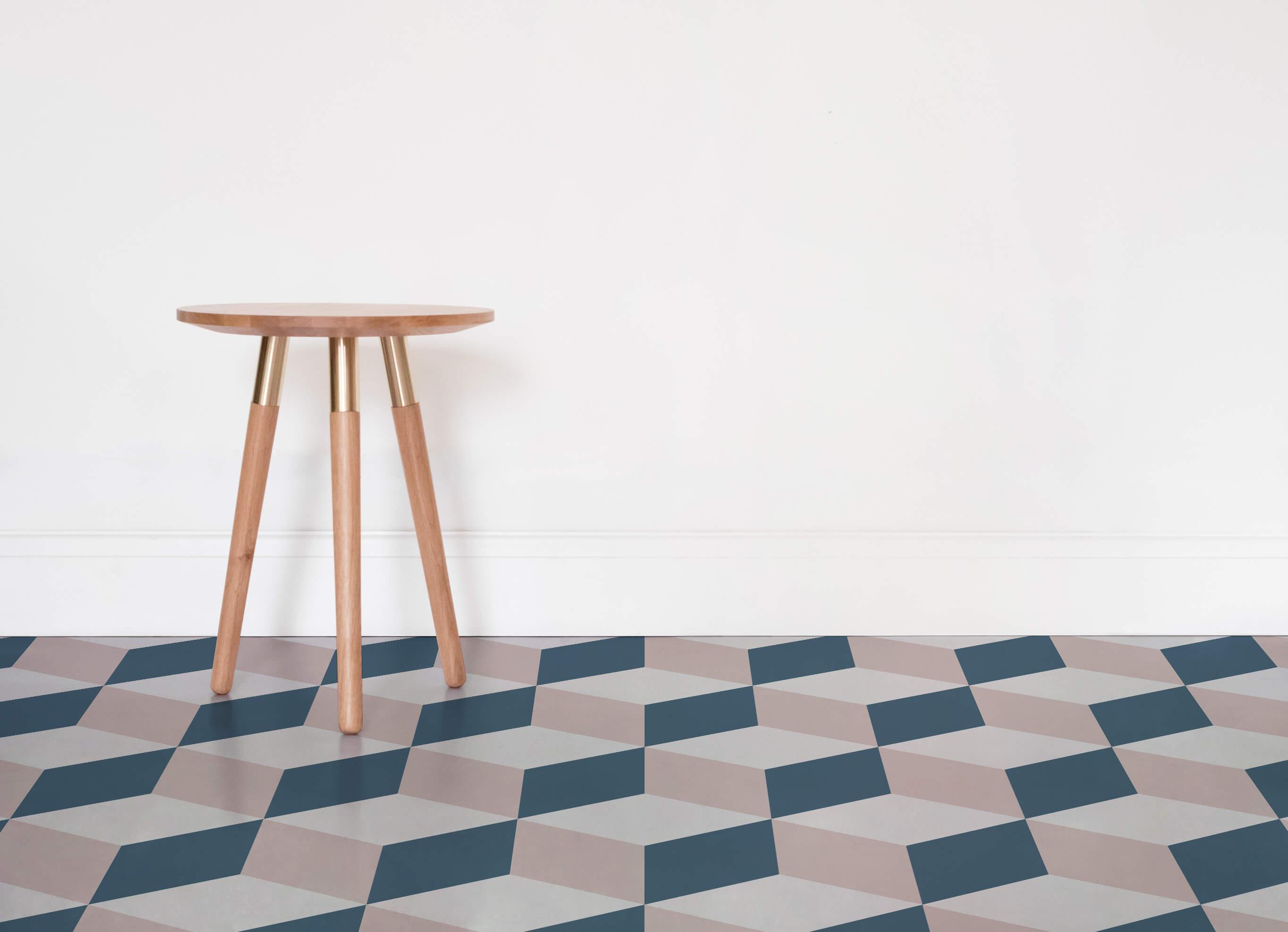 vinyl floor cube-geometric-vinyl-flooring-pink-room-vinyl-flooring SXEVVCY