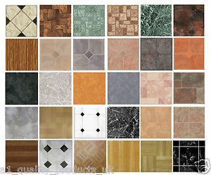 vinyl floor tiles image is loading 4-x-vinyl-floor-tiles-self-adhesive-bathroom- ENAXTLI