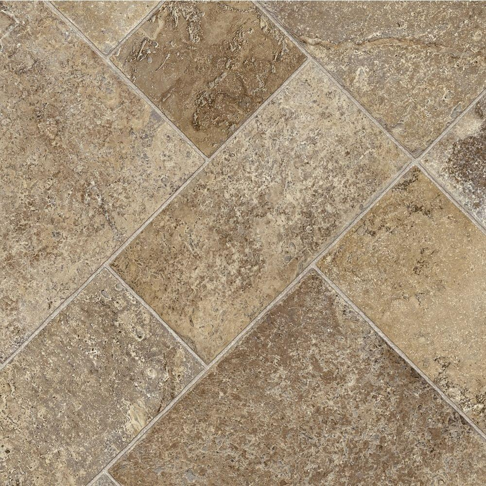 vinyl sheet flooring trafficmaster coffee diagonal tile 12 ft. wide x your choice length vinyl KZGRLEC