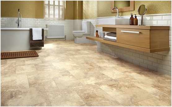 vinyl tile flooring bathroom vinyl bathroom floor tiles » a guide on luxury vinyl tile flooring for KTJCVRO