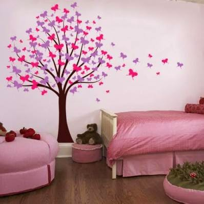 wall decoration theme awesome butterfly wall decoration | butterfly themes for interior walls OGAPTZL