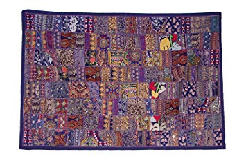 Wall Hangings free shipping indian designer hanging wall tapestry patchwork design u0026  embroidery work, HPNLGYD