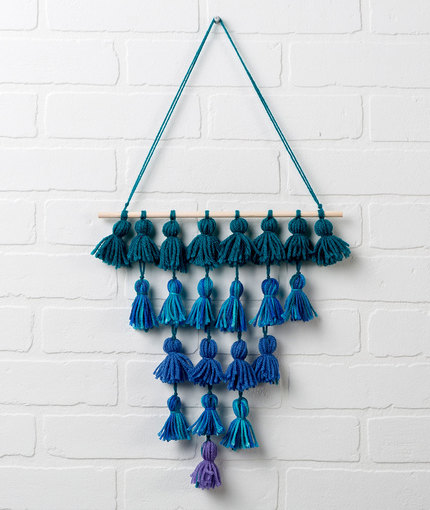 Wall Hangings tassel wall hanging free craft pattern lw5243 IJECPVA