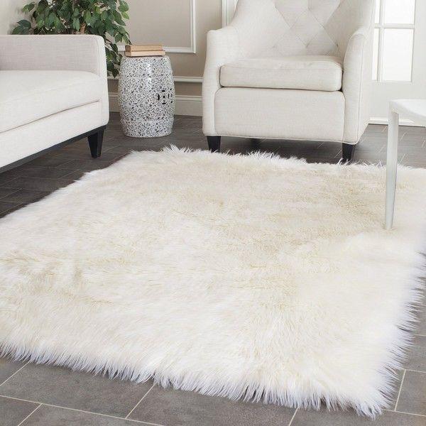 white rugs lovely white rug safavieh handmade faux sheep skin ivory acrylic rug x FRYVVRS