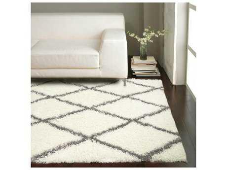 white rugs nuloom bobo shag white u0026 grey rectangular area rug NVHPCMC
