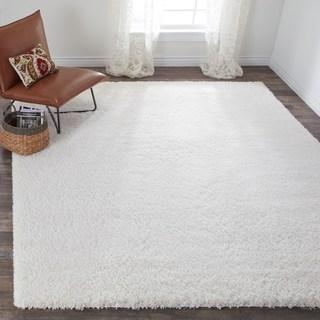 white rugs safavieh california cozy plush milky white shag rug SINGKNM