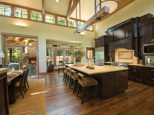 Wood kitchen flooring – the latest in trend