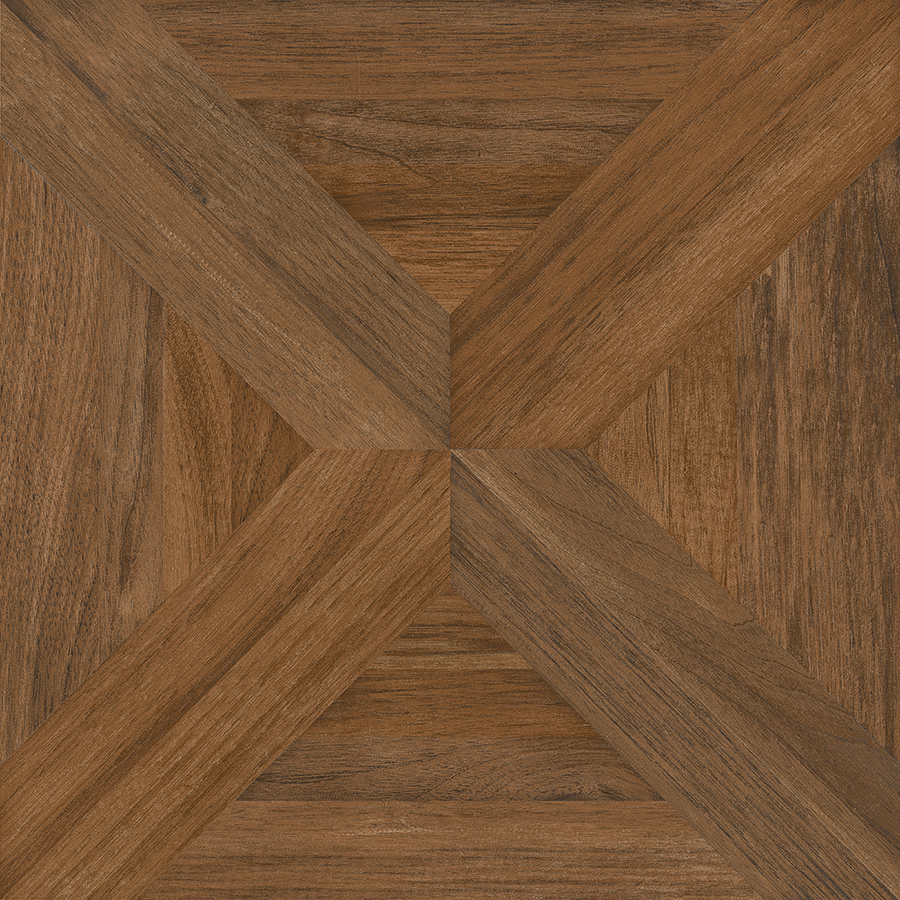 wood tile flooring nitrotile villanova brown wood look ceramic floor tile (common: 17-in x 17 VFJKDTR