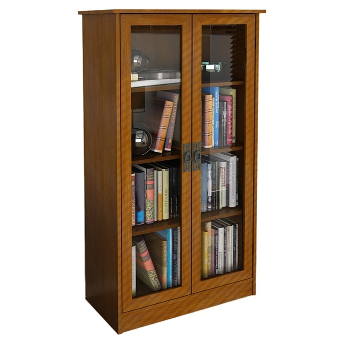 Wooden Bookcases glass door bookcase ECCULMZ