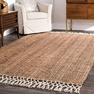 wool rugs the gray barn antelope springs chunky jute and wool tassel area rug - KSEMXSD