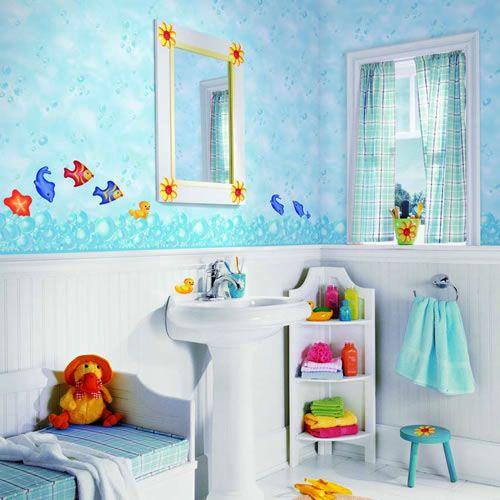 222 kids bathroom themes ~ http://lanewstalk.com/how-to-choose-kids-bathroom -decor/ HCERLZA