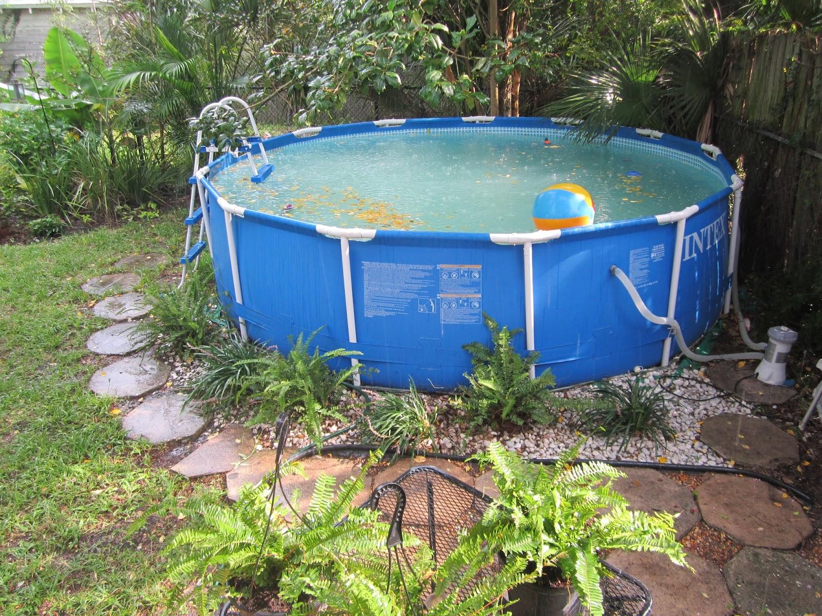 above ground pool landscaping ideas on a budget ... budget natures art design above ground pool landscaping ideas 10  unusual QIMQZAU