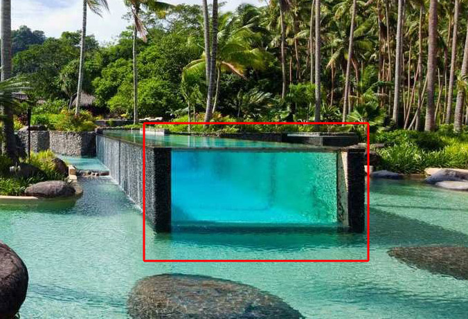above ground pools that look like in ground ... above ground pool at a luxurious tropical island resort looks like. MXDGMOH