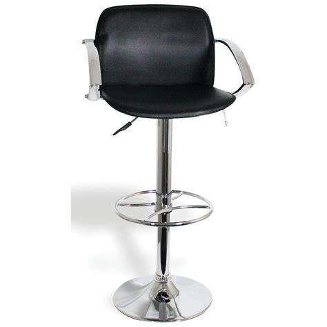 adjustable bar stools with backs and arms buffalo adjustable height bar stools with arm rests and HWHUZUT