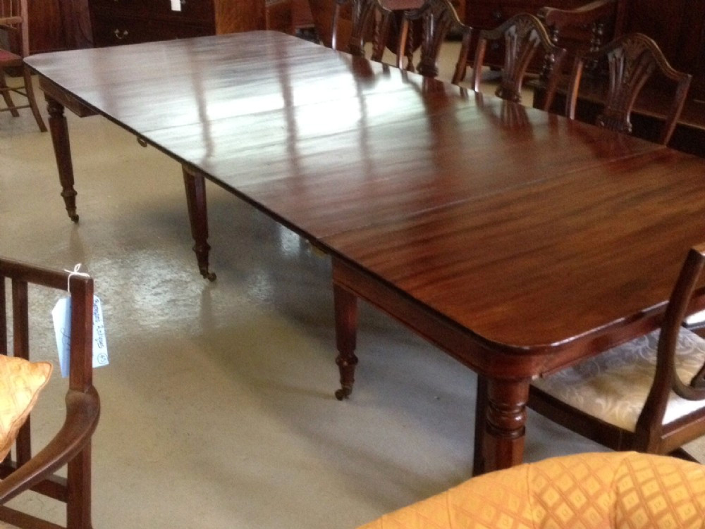 antique dining room table with pull out leaves ... antique dining room · beautiful late georgian pull out eight legged 12 PTRQBCR