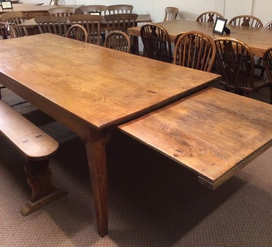 antique dining room table with pull out leaves antique elm farmhouse table PYRJAJC