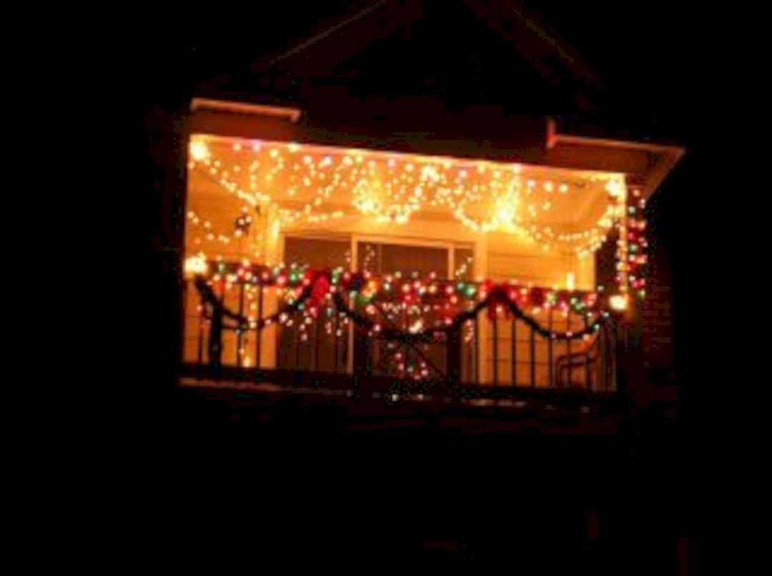 apartment balcony christmas decorating ideas inspiring 35 best apartment balcony christmas light decorating ideas for  charming christmas MOSYKCB