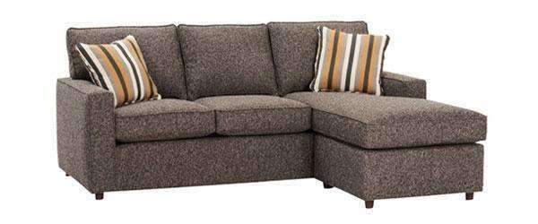 apartment size sectional sofa with chaise fabric sectional sofa jennifer apartment size track arm reversible chaise WYSWIJJ