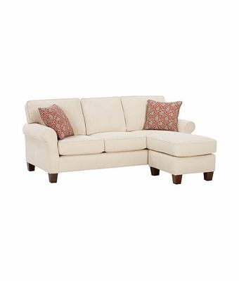 apartment size sectional sofa with chaise nikki  EBSHWWI