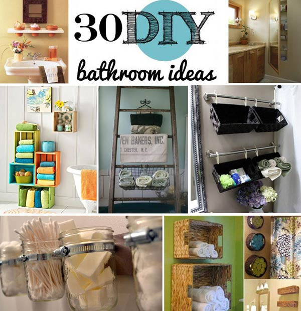 bathroom organization ideas for small bathrooms diy-bathroom-storage-ideas-woohome NSWCTHB