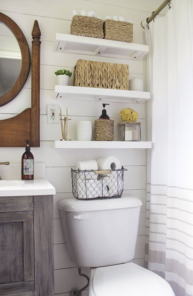 bathroom organization ideas for small bathrooms ... ideas related search: small bathroom storage , b. shiplap more NJYSACS