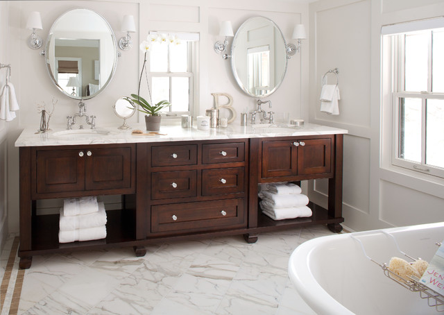 bathroom vanities that look like furniture traditional bathroom- bath vanity traditional-bathroom FUFHPIE