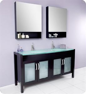 bathroom vanities with matching medicine cabinets picture of fresca infinito espresso modern double sink bathroom vanity w/ JGWPENZ