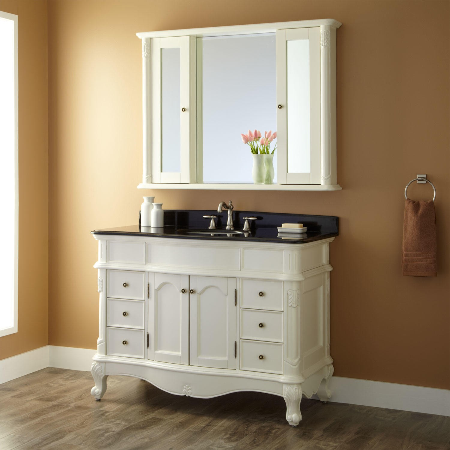 bathroom vanities with matching medicine cabinets sophisticated bathroom vanity medicine cabinet decorating idea at cabinets  ... FUXPKGE