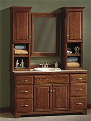 bathroom vanities with matching medicine cabinets the windham collection IWEMVUO