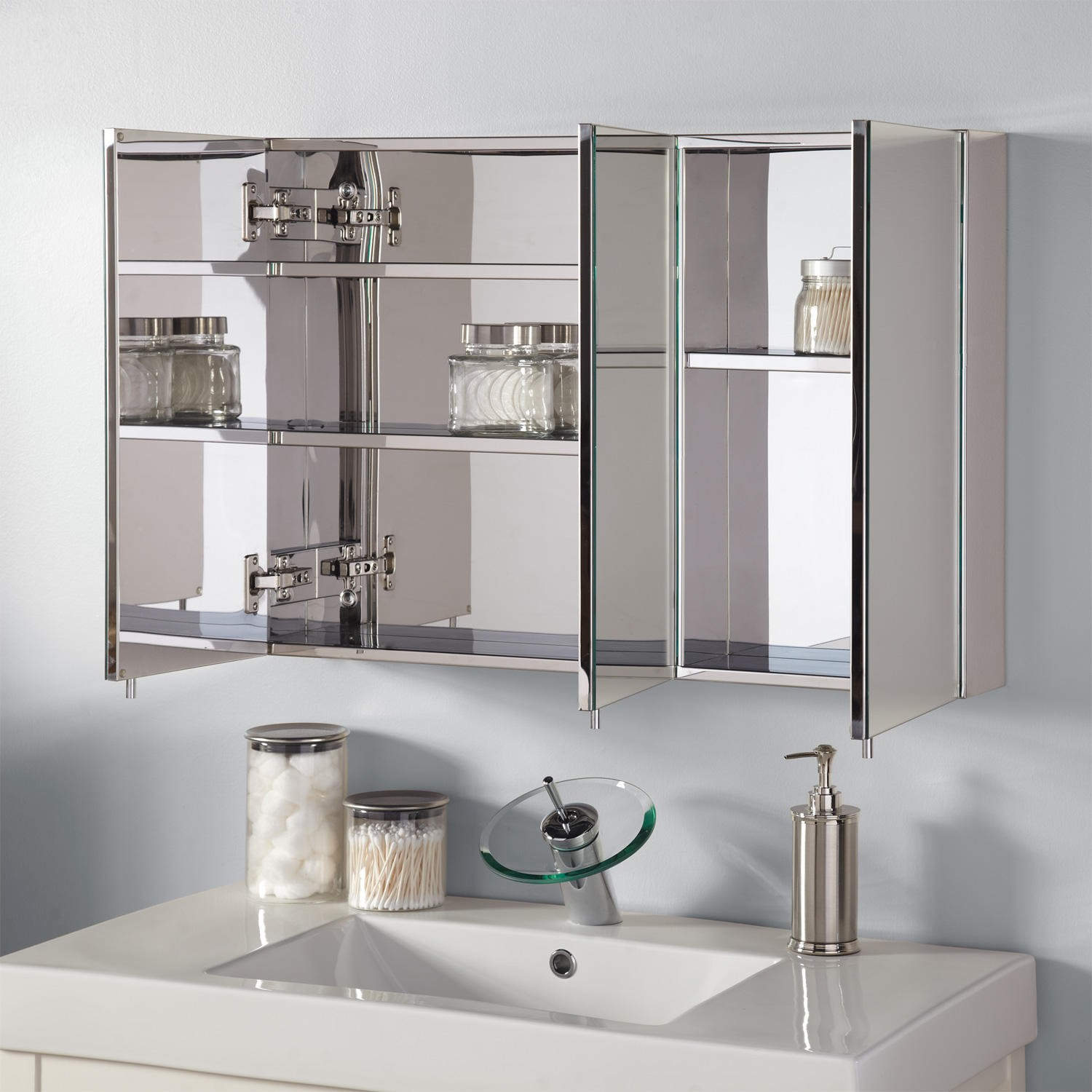 bathroom vanity mirror medicine cabinet bathroom medicine cabinet cozy popular 375902 open steel UMKYPJX