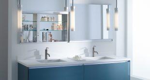 bathroom vanity mirror medicine cabinet uplift | robern SBLQXQU