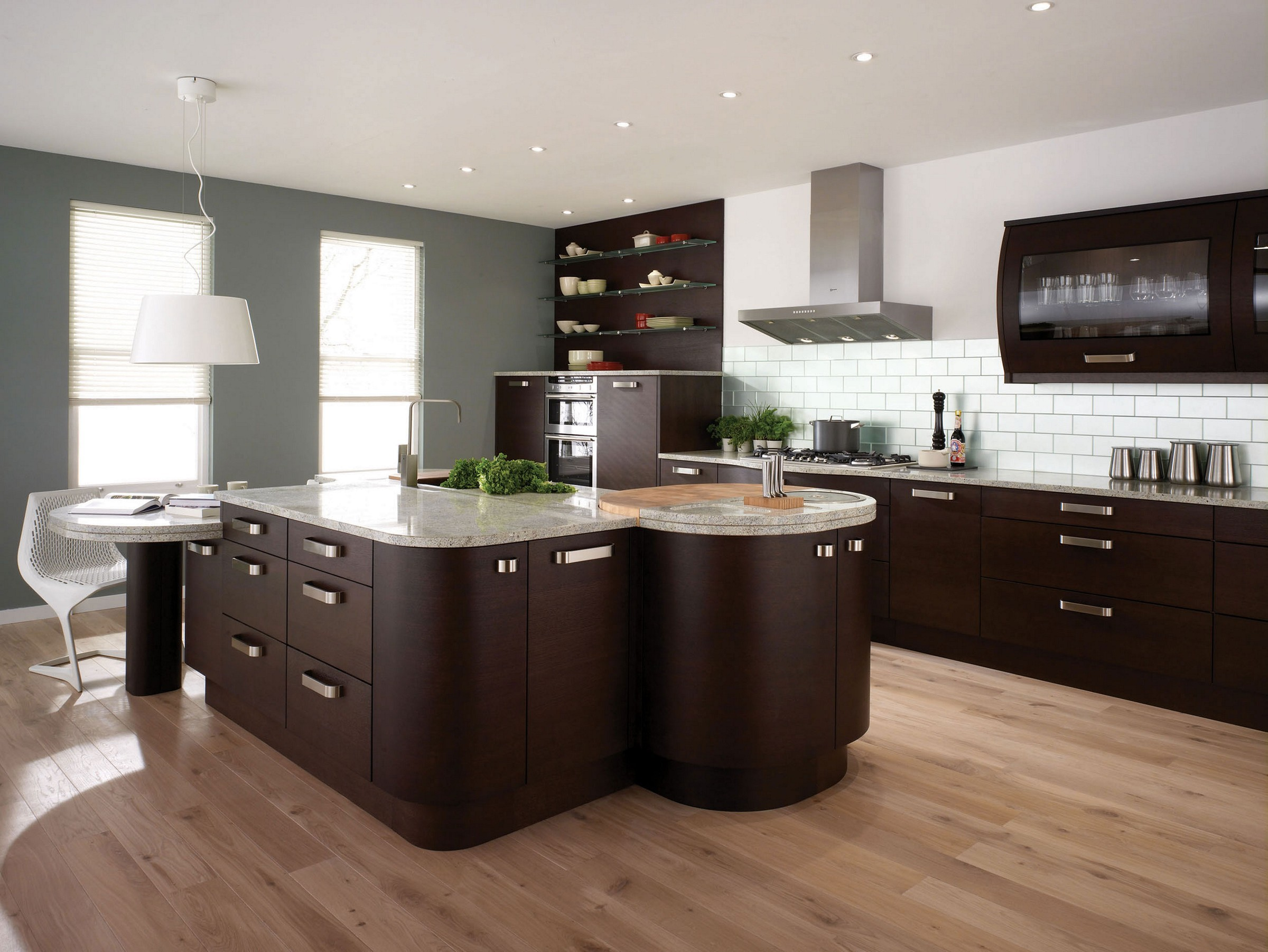 best paint color for kitchen with dark cabinets brown cupboards espresso XOHGIHT