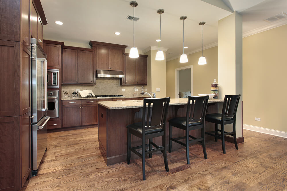 best paint color for kitchen with dark cabinets choose kitchen paint colors with dark cabinets XPKVKOC