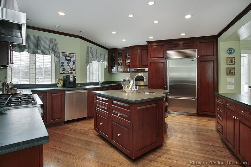 best paint color for kitchen with dark cabinets kitchen design ideas: the best of kitchen colors with dark cabinets JEZTKLG