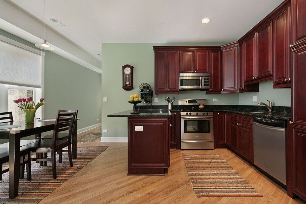 best paint color for kitchen with dark cabinets kitchen paint colors with cherry cabinets DKPMMOR