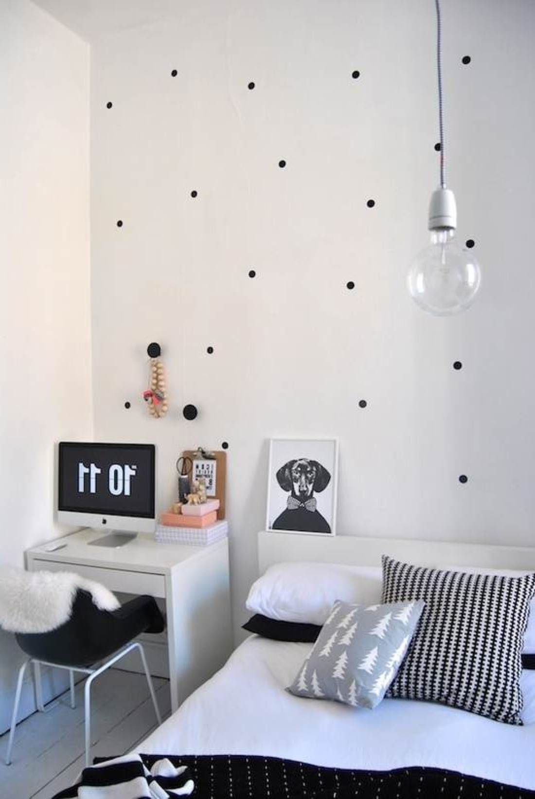 black and white bedroom ideas for small rooms trendy bedroom decorating ideas for young women | better home and ZNPXQJK