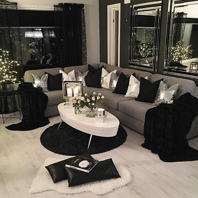 black and white decor ideas for living room black and white living room decor room ideas intended for black BNOUYGU